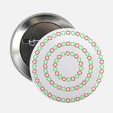 """4 circles optical illusion 2.25"""" Button"""