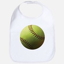 Yellow Softball Bib