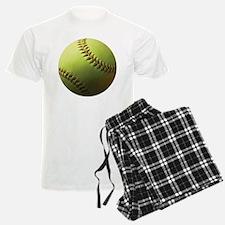 Yellow Softball Pajamas