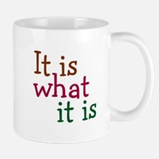 It is what it is Small Small Mug