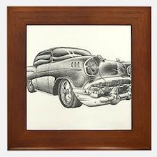 Vintage Chevy Framed Tile