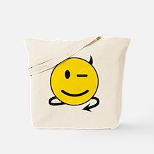 Smiley Devil Tote Bag