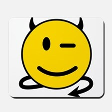 Smiley Devil Mousepad