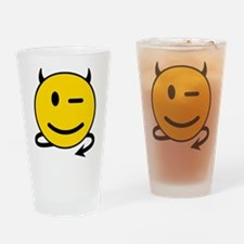 Smiley Devil Drinking Glass