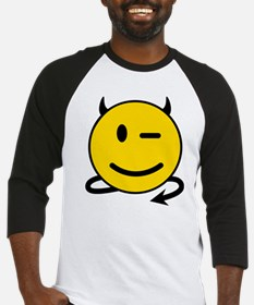Smiley Devil Baseball Jersey