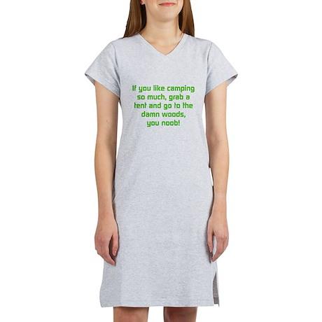 Noob Camping Women's Nightshirt