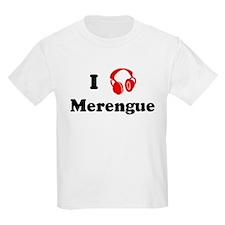 Merengue music Kids T-Shirt