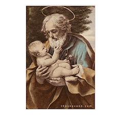 Joseph/Infant Postcards - Pack of 8