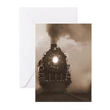 Christmas Train 0.71 Greeting Cards (Pk of 20)