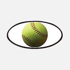 Yellow Softball Patches