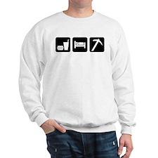 Eat Sleep Go Rockhounding Sweatshirt