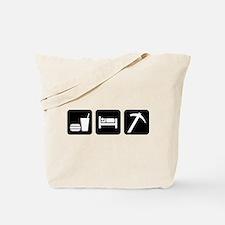 Eat Sleep Go Rockhounding Tote Bag