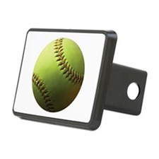 Yellow Softball Hitch Cover