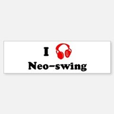 Neo-swing music Bumper Stickers