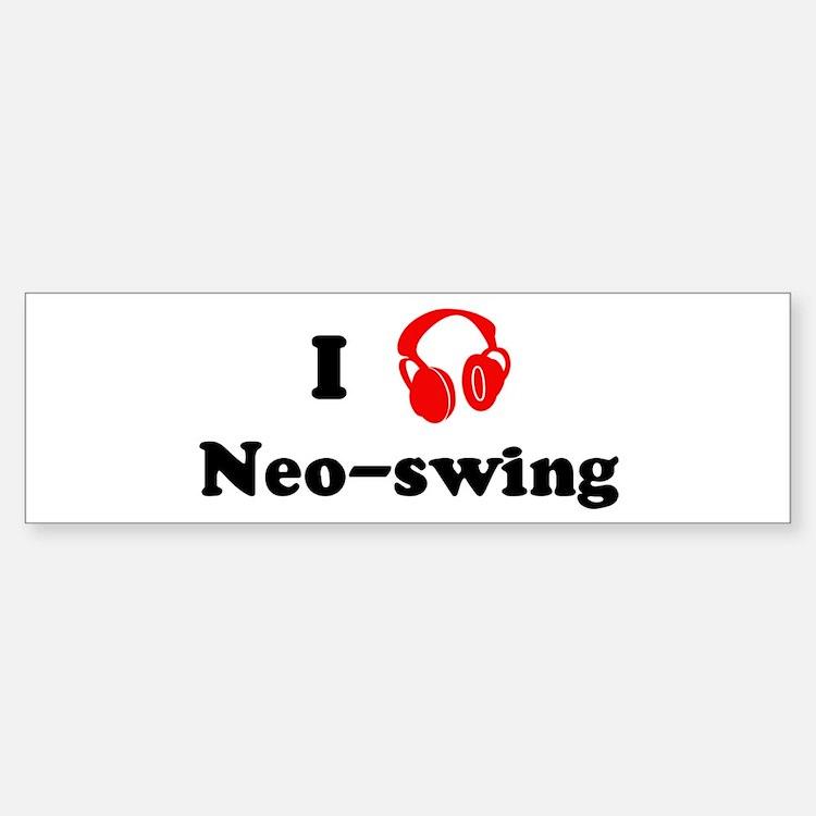 Neo-swing music Bumper Stickers