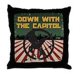 Hunger games Throw Pillows