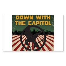 Down With The Capitol - Hunger Games Decal