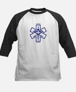 Trauma Junkies Star of Life Kids Baseball Jersey