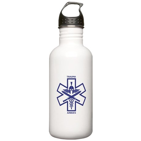 Trauma Junkies Star of Life Stainless Water Bottle
