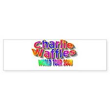 charlie waffles.jpg Bumper Sticker
