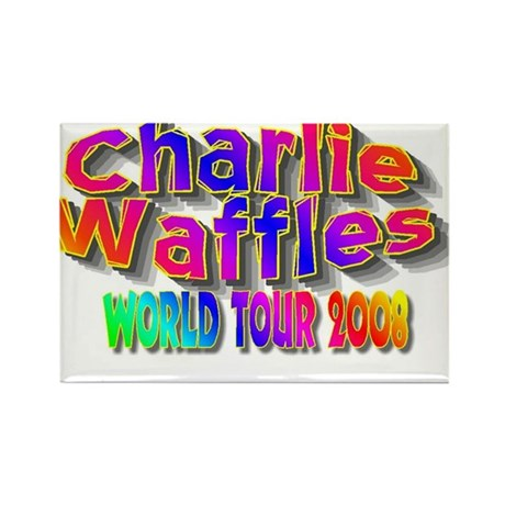 charlie waffles.jpg Rectangle Magnet (10 pack)
