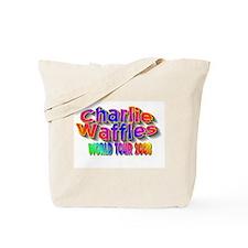 charlie waffles.jpg Tote Bag