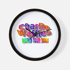 charlie waffles.jpg Wall Clock