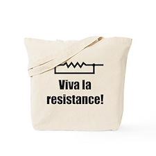 Viva la resistance Tote Bag