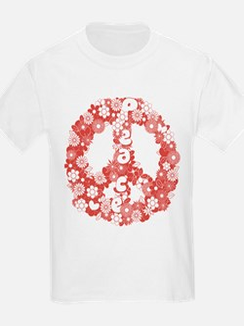 Retro peace symbol T-Shirt