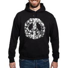Retro peace symbol Hoodie
