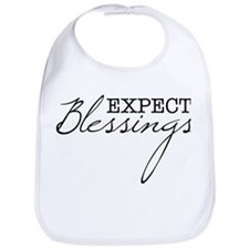Expect Blessings Bib