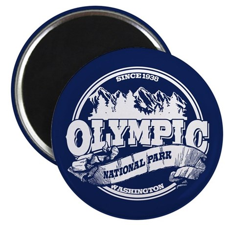 Olympic Old Circle Magnet