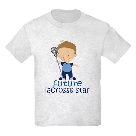 Future Lacrosse Star Boys Kids Light T-Shirt