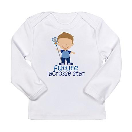 Future Lacrosse Star Boys Long Sleeve Infant T-Shi
