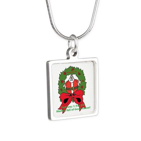 Fat christmas elf alluring