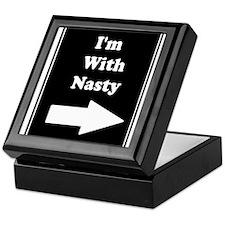 Im With Nasty Keepsake Box