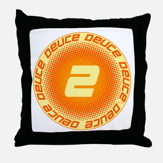 Deuce #2 Throw Pillow