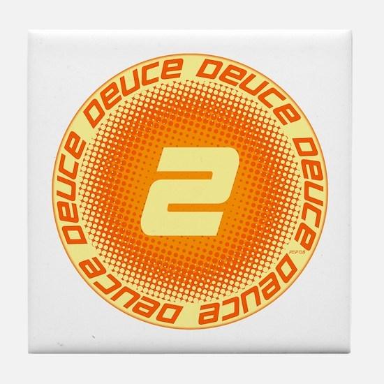 Deuce #2 Tile Coaster