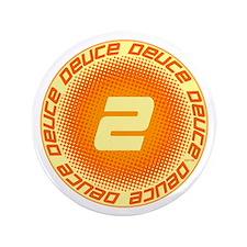 """Deuce #2 3.5"""" Button"""
