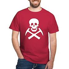 Rockhound Skull Cross Picks T-Shirt