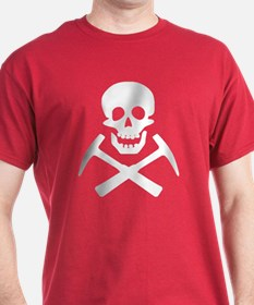 Rockhound Skull Cross Picks T-Shirt