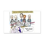 Museum Of Ex Political Parties 20x12 Wall Decal