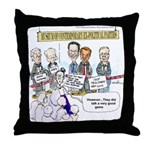 Museum Of Ex Political Parties Throw Pillow