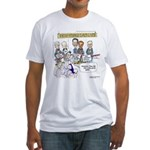 Museum Of Ex Political Parties Fitted T-Shirt