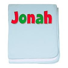 Jonah Christmas baby blanket
