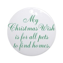 On Sale - Christmas Wish Ornament