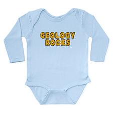 Geology Rocks Long Sleeve Infant Bodysuit