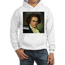 Beethoven Graphic Poetry Quote Hoodie