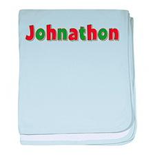 Johnathon Christmas baby blanket