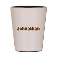 Johnathan Christmas Shot Glass